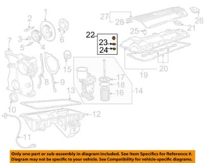 Sell BMW OEM 2002 Z3 3.2L-L6 Engine-Valve Cover Nut 11121401517 motorcycle in Bridgeport, Connecticut, United States, for US $7.72