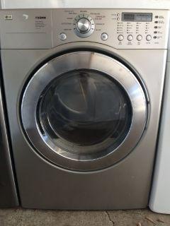 LG Electric Dryer in Titanium