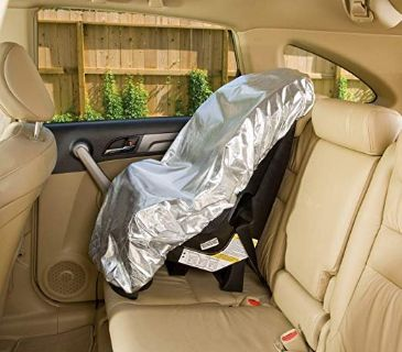 Sunshield baby car seat cover