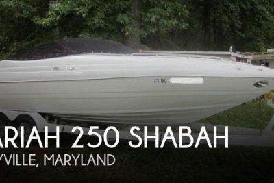 2001 Mariah 250 Shabah