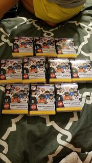 NFL mystery pack figures