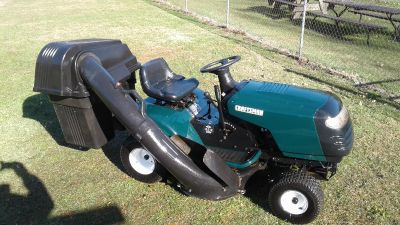 Sears craftsman riding lawn mower