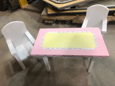 Doll Table and Chairs