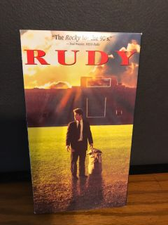 Rudy VHS tape
