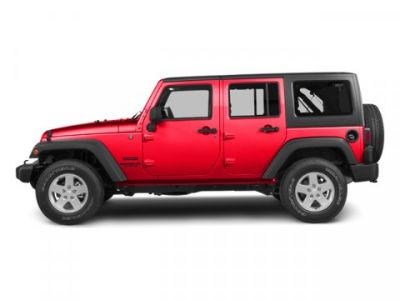 2013 Jeep Wrangler Unlimited Sahara (Flame Red)