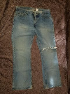 Old navy boot cut size 14r