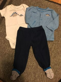 Carter s 3m dinosaur outfit