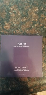 NWT Tarte Be You. Naturally Pallet