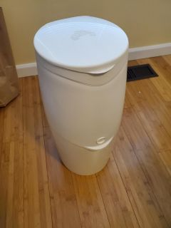 Diaper Genie with almost full bags