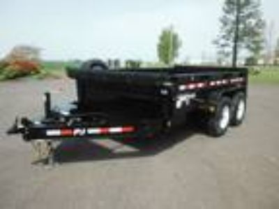 2020 PJ Trailers Dump DL 7' X 12' 14K Low-pro