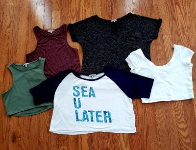 5 Charlotte Russe Womens Tops