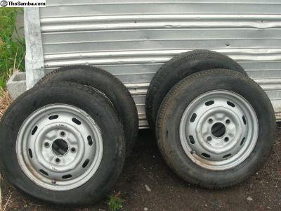 4 Lug Wheel and Tires
