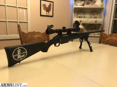 For Sale/Trade: Ruger American 450 bushmaster with Leupold