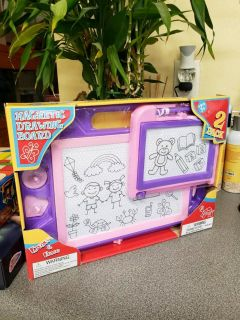 Brand New. 2 Pack Magnetic Drawing Board.