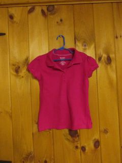 Old Navy 8 deep pink polo