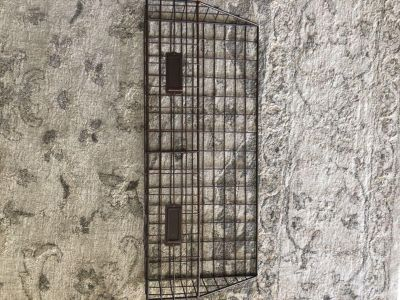 Wall hanging wire rack. Magazine / paper size