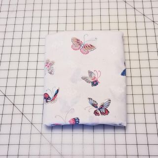 Cotton Fabric Butterfly Pattern