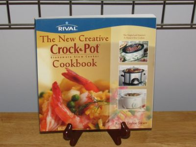 "Cookbook ""the New Creative Crock Pot"" Rival 2001"