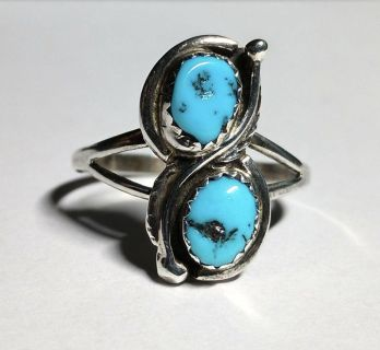 Sterling silver/turquoise ring