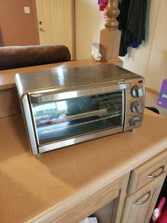 Toaster oven never used