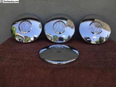 Original VW 4 lug type hub caps