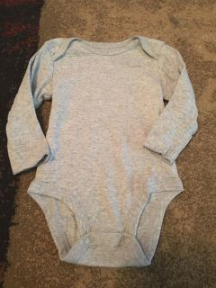 Carters 6m grey ls onesie - ppu (near old chemstrand & 29) or PU @ the Marcus Pointe Thrift Store (on W st)