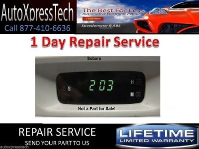 Sell DIGITAL CLOCK REPAIR Fits Subaru Honda Toyota and Ford Compass motorcycle in Brockton, Massachusetts, United States, for US $20.00