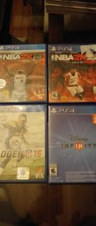 4 PS4 games asking $10 for all
