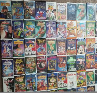 213 VHS Tapes