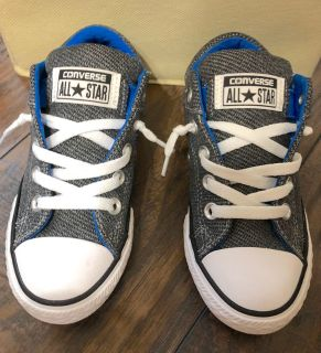 Like New Boys Converse Sz 12! Slip-Ons! Perfect for School!