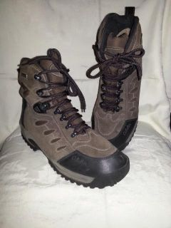 Men's Cabela's Winter Boots 14 D Dry Plus Insulation High Tops Rubber Toes Exc Cond Worn Once Only