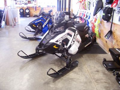 2018 Polaris 600 RUSH XCR SnowCheck Select Trail Sport Snowmobiles Center Conway, NH