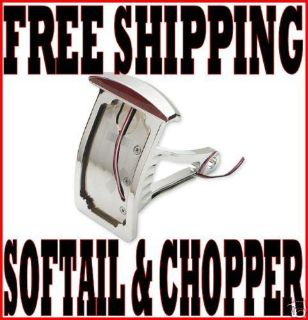 Sell CHROME SLIM L.E.D. CAT EYE SIDE MOUNT TAILLIGHT LICENSE PLATE MOUNT HARLEY motorcycle in Zieglerville, Pennsylvania, US, for US $169.95