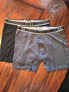 New Under Armour size large boxers