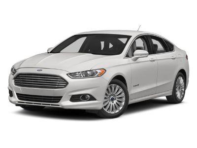 2013 Ford Fusion Hybrid SE (Ingot Silver)