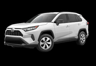2019 Toyota RAV4 LE (Super White)