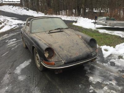 1968 911T soft window targa project