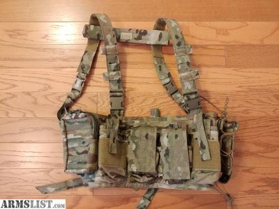 For Sale: PIG Multicam Universal Chest Rig