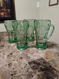 Nice heavy Coca Cola set of 4 all for $10