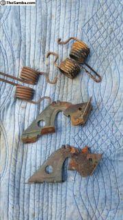 rear engine decklid hinges w/springs