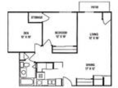 Wildwood Highlands Apartments & Townhomes 55+ - One BR, One BA with Den