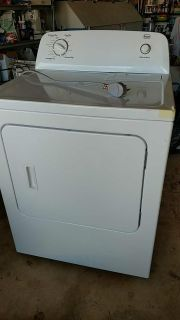 Roper Electric Clothes Dryer- used only 10 times.