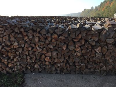 Dry Fir Firewood split and delivered