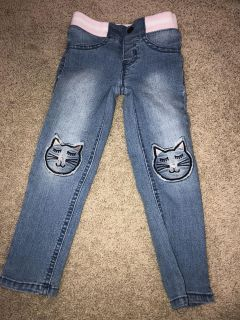 4T Cat and Jack Kitty pants