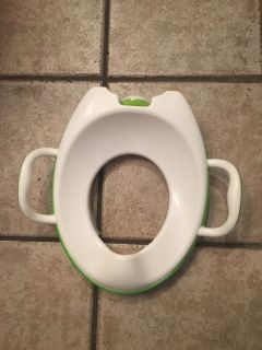 Over the toilet Potty Seat Arm and Hammer