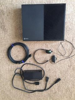 Xbox One 500gb w/controller n headset etc
