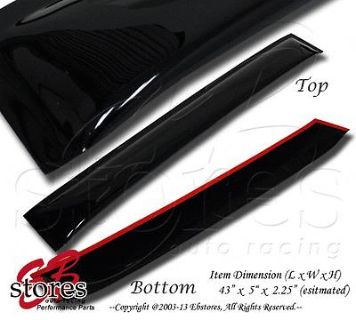 Find Roof WindShield Deflector Rear Visor Sun Guard Scion tC 2005-2010 05-10 motorcycle in La Puente, California, US, for US $51.95