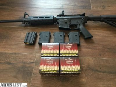 For Sale: AR15, M&P15