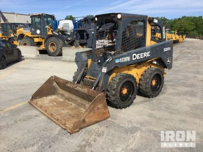 2012 John Deere 320D Skid-Steer Loader