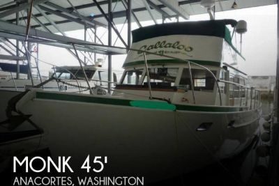 1964 Monk 45 McQueen Trawler